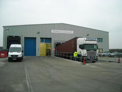 Terminal/ Customs Transit Shed - TSO | Anglia Cargo International Ltd